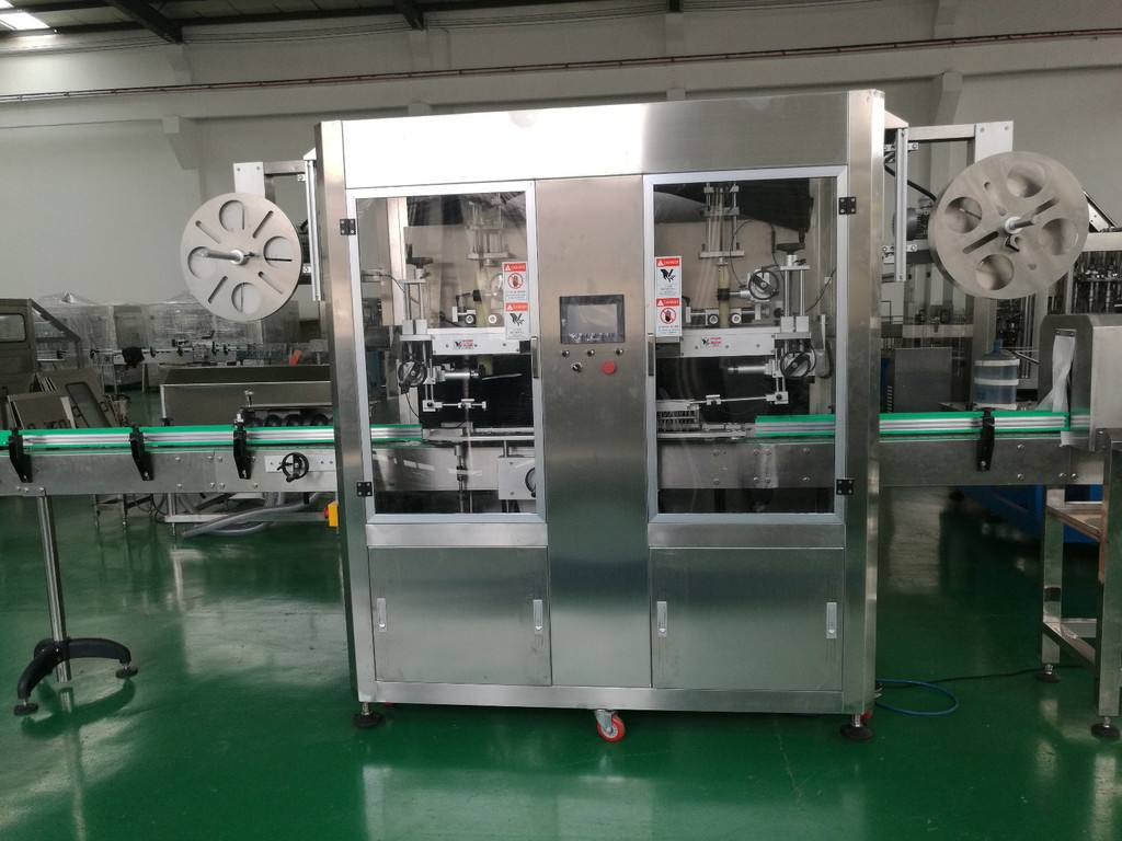 bottle sleeve labeling machine