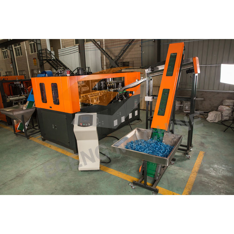 High speed ,Good quality automatic pet blow molding machine/4 cavities plastic bottles blowing molding machine