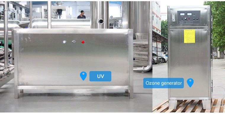 Drinking Water Treatment Plant / Machine For Bottled water
