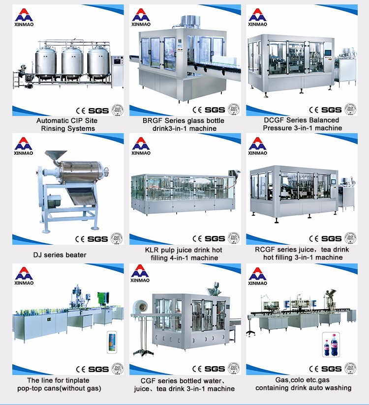 Factory price fully automatic bottle beverage drinking mineral water filling machine