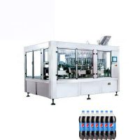 Carbonated Drink High Capacity Filling Machine For Gas Bottle Water  Production Line For Cola Pepsi>